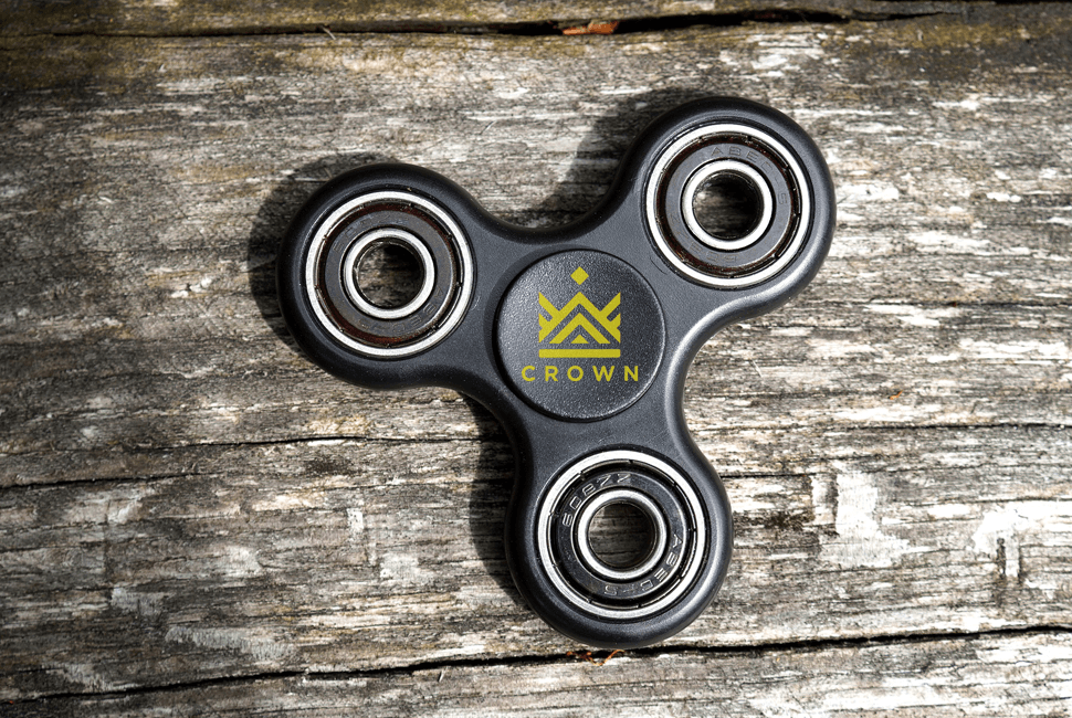 Crown Fidget Spinner