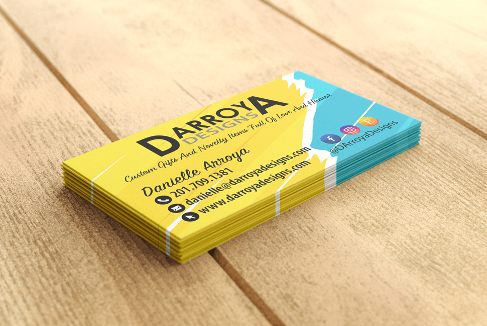 D Arroya Designs Business Cards