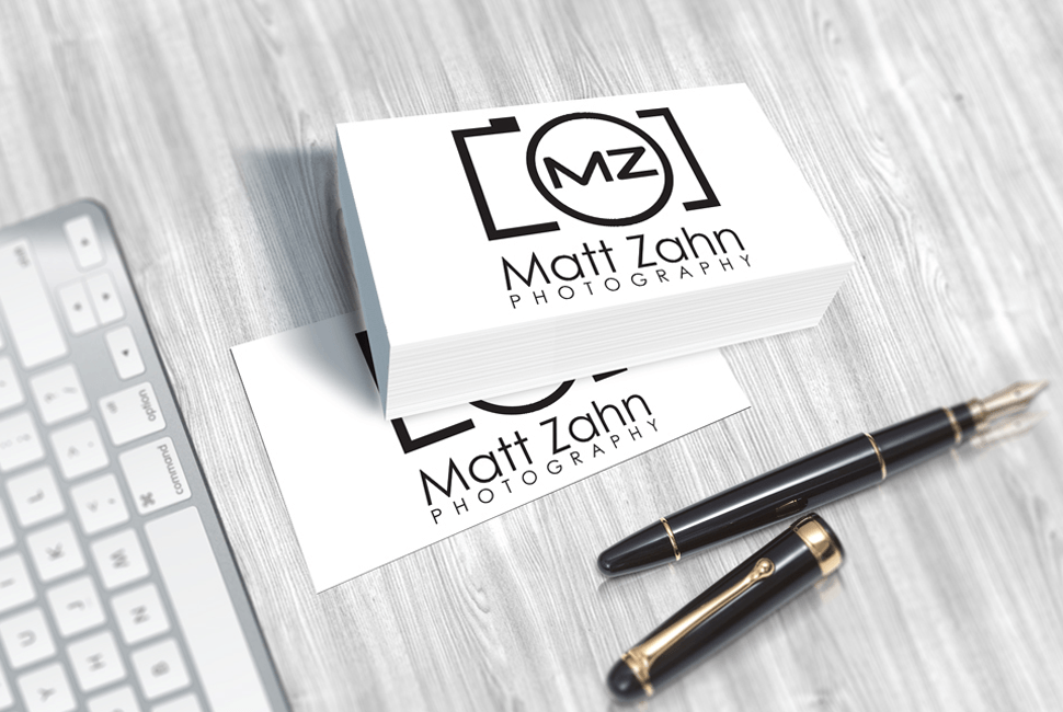 Matt Zahn Photography Business Cards